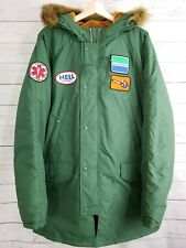 Supreme HYSTERIC GLAMOUR N-3B Parka Fur Fall Winter Jacket XL Green