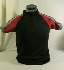 Hunger Games Training Shirt Black/Burgundy/Gray SMALL Polyester/Spandex