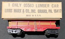 MARX 05563 LUMBER CAR