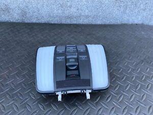 ✔MERCEDES W212 E63 E350 E550 E250 FRONT UPPER DOME MAP LIGHT LAMP SWITCH OEM