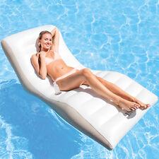 Intex Luftmatratze Wave Lounge Schwimmliege für Pool Wasserliege Poolliege Sitz