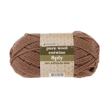 4 Seasons Pure Wool Entwine 8 Ply Yarn Taupe