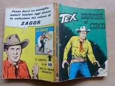 Tex Willer n 66 lire 200 Aut 2926 MG 4a Zagor discreto/buono prima edizione