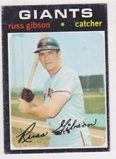1971 Topps Short Print #738 Russ Gibson - San Francisco Giants, Excellent Cond!