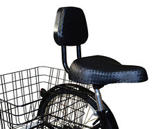 Jorvik Adults Tricycle Seat or Bicycle Saddle with Back Rest
