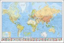 Weltkarte Poster die Welt 91 5 X 61 Cm