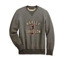 HARLEY-DAVIDSON® MEN'S #1 RACING PULLOVER SWEATSHIRT 96055-20VM LARGE