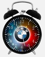 "BMW Alarm Desk Clock 3.75"" Home or Office Decor Z191 Nice For Gift"