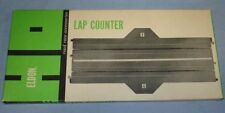 ELDON HO ROAD RACE ACCESSORIES SLOT CAR RACING 9 INCH STRAIGHT LAP COUNTER TRACK