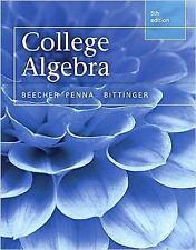 College Algebra, Books a la Carte Edition (5th Edition), Bittinger, Marvin L., P