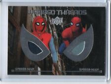 2017 UPPER DECK MARVEL SPIDER-MAN HOMECOMING DUAL WEBBED THREADS RELIC#WTD10