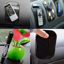 4Pcs Black Car Dashboard Anti-Slip Magic Sticky Pad Mat for Mobile Phones Pens