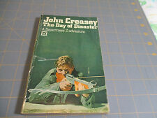 The Day Of Disaster By John Creasey (1968) Arrow Uk Adventure Thriller Pb