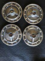 "1965-66-67 Chevrolet Impala SS 14"" Spinner Wheel Covers/Hub Caps. RAT ROD READY"