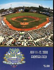2000 AAA All-Star Game Rochester Frontier Field Program EX 010917jhe
