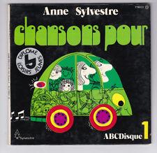 45 TOURS EP ANNE SYLVESTRE CHANSONS POUR 778031 pochette ouvrante
