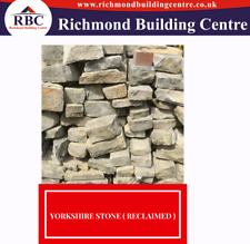 """YORKSHIRE OLD STONE ALL MIXED SIZE 50MM,150MM 3"""" , 4"""" , 5"""" , 6"""" , ( RECLAIMED )"""