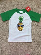 NWT Hanna Andersson Boys Rashguard Swim Shirt 110cm US 5