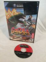 NINTENDO GAMECUBE - GODZILLA Destroy All Monsters Melee- Game & Case Black Label