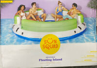 Adult Inflatable Floating Island -best pool floats for adults Sun Squad