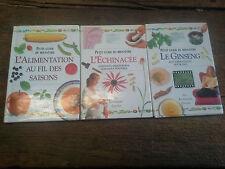 Petit guide du bien être Le Ginseng L'échinacée L'alimentation au fil des saison