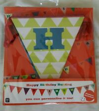 Talking Tables Happy Birthday Bunting that you can personalise.