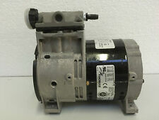 THOMAS WOB-L PISTON PUMP 669BESUU44TFE OIL FREE 180 LPM MAX 11 BAR MAX