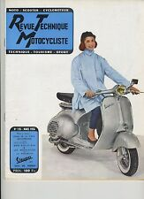 (31B)REVUE TECHNIQUE MOTOCYCLISTE Motobécane Z23C / BMW R50 et R69/ MOBYLETTE