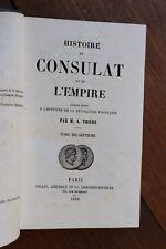 Histoire du Consulat et de l'Empire Napoléon I par Thiers 1860 Tome 17 1813-1814