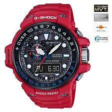 CASIO G-SHOCK MENS WATCH GULFMASTER GWN-1000RD-4A FREE EXPRESS GWN-1000RD-4ADR