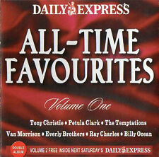 ALL-TIME FAVOURITES - PROMO 2 CD SET: TONY CHRISTIE, PETULA CLARK, TEMPTATIONS