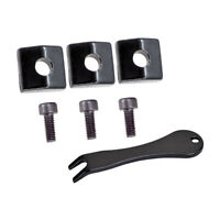3pcs Electric Guitar Bridge Locking Nut Block Clamp&Screws&Pin Puller Set
