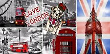 LONDON Shabby Chic   Wall Plaque Sign Christmas Birthday etc Gift