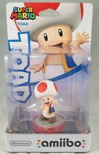 Nintendo amiibo Super Mario Toad 3DS Wii U