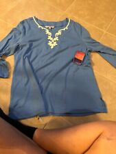 Sunsets And Sweet Tea Womens Shirt Size Xl Nwt