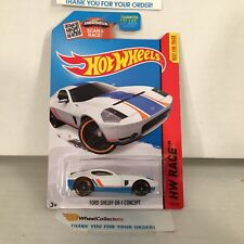 Ford Shelby GR-1 Concept #178 * WHITE * 2015 Hot Wheels * YA10