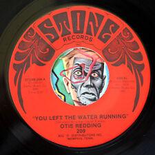 HEAR Otis Redding 45 You Left the Water Running/Otis Jam STONE M- soul R&B funk