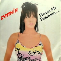 "CYNTHIA  PLEASE Mr. POSTMAN .. 7"" HE'S MAGIC MEGARARE  ITALODISCO 1986 ITALY"