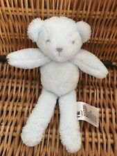MOTHERCARE MY FIRST BLUE TEDDY BEAR SOFT TOY