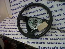 SAAB 9-5 95 Steering Wheel Black w/ Radio Controls 2006 - 2010 12757531 12774367