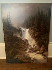 Larry Dyke Wilderness Thunder Canvas, Limited Edition, #140/250