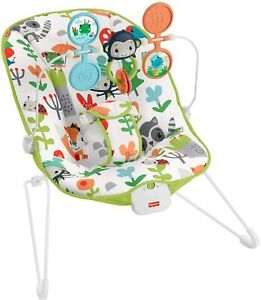 Fisher-Price Baby's Bouncer Forest Explorers Baby Bouncing Chair