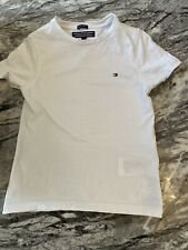 Tommy Hilfiger Baby Boys Aged 3 White Shirt Sleeve T Shirt Top