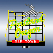 Miller Engineering Portland Oregon Animated Neon Sign 88-3501