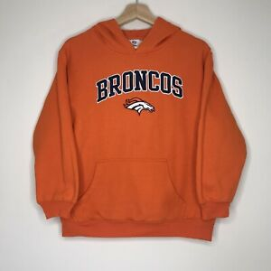 Denver Broncos NFL Hooded Sweater Sz YOUTH XL Authentic Team Merch - FREE POST!