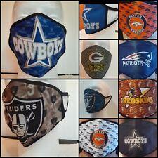NFL FOOTBALL TEAMS Face Mask, adult Washable, Reusable,custom desig,fast ship,