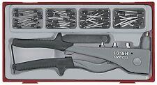 Teng Tools mano Remachadora Y El Remache Tuerca Sut 81 piezas