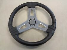 """BENNINGTON 15"""" STAINLESS STEEL STEERING WHEEL WITH OUT HUB MARINE BOAT"""