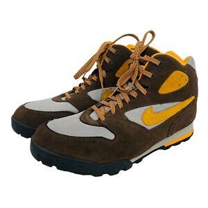 Nike ACG Caldera Men's Vintage 2006 Brown Orange Hiking Shoes 313500-271 Sz 13