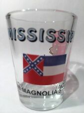 MISSISSIPPI THE MAGNOLIA STATE ALL-AMERICAN COLLECTION SHOT GLASS SHOTGLASS
